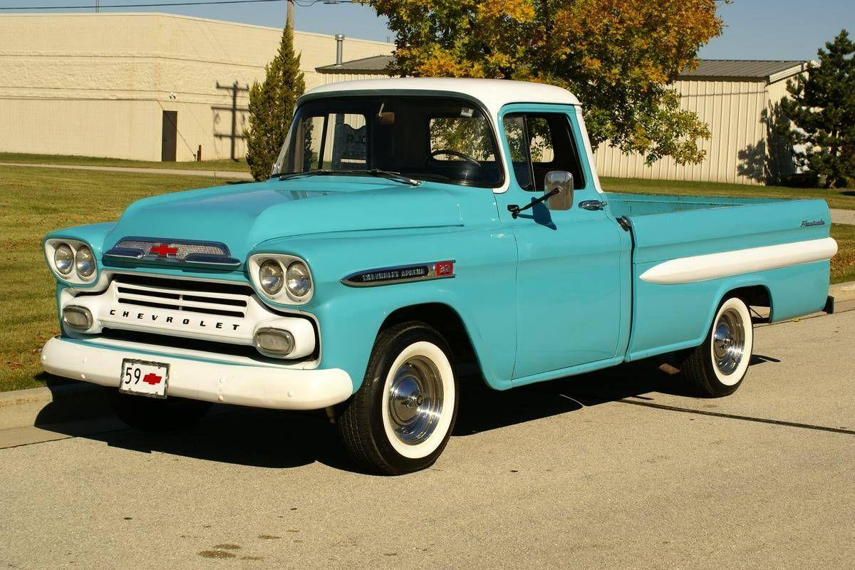 1959 Chevrolet Apache 32 For Sale Hemmings Motor News Chevrolet Apache Chevrolet Chevy Trucks