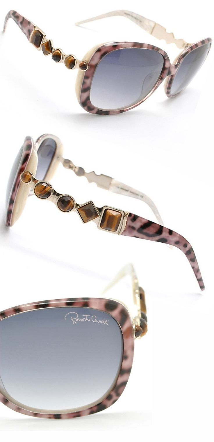 Roberto Cavalli Leopard Print Sunglasses   Lovely Sunnies ... 3289fffd43