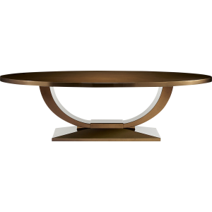 A Stunning Oval Dining Table Finished In Bronze. Achieve A Majestic Centre  Piece With This