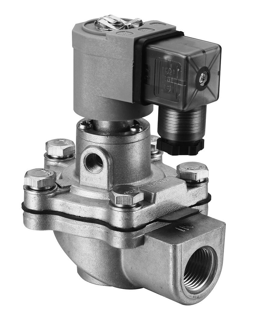 "220VAC 1/2""npt pulse valve with fast opening and closing"