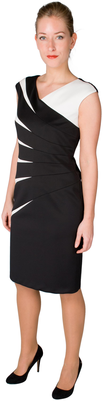Kleid in Kontrastfarben Select by Hermann Lange | Kleider ...