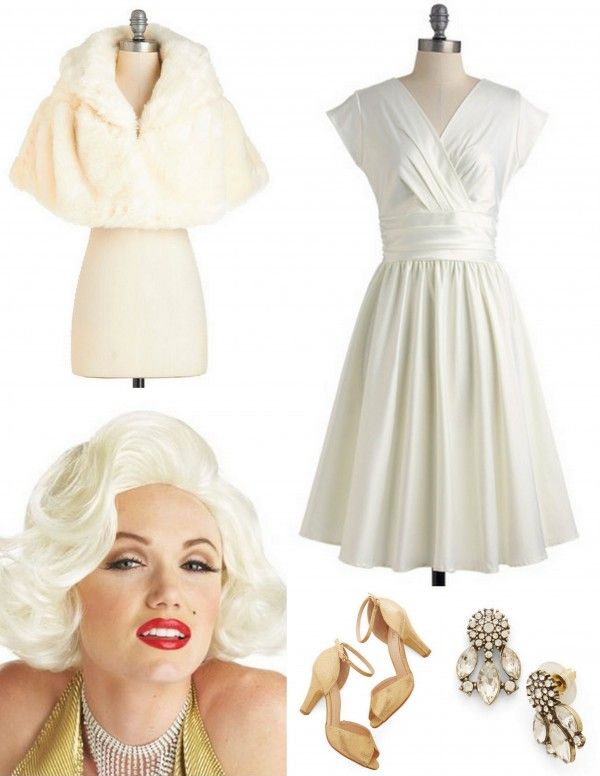 Plus Size Marilyn Monroe Costume Ibovnathandedecker