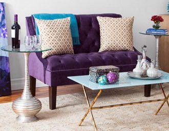 Jewel Tones Furniture Lighting Decor In Luxe Hues