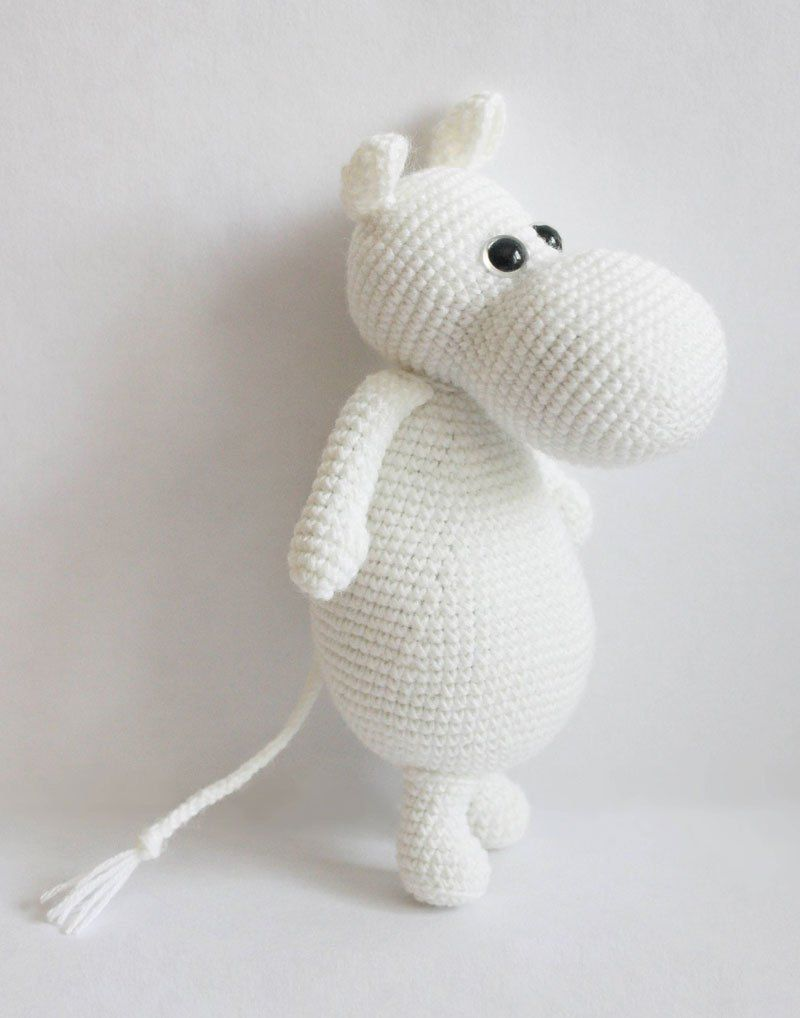 Amigurumi Moomintroll - free crochet pattern | FIGURINE CROCHET ...