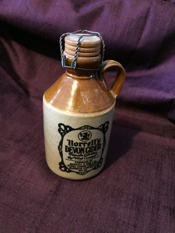 Horrells devon cider stoneware jug west country horrell