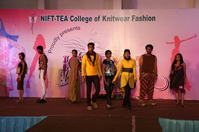 Pin By Nift Tea College Of Knitwear F On Nift Tea Event Gallery Fashion Designing Colleges Knitwear Fashion College Presents