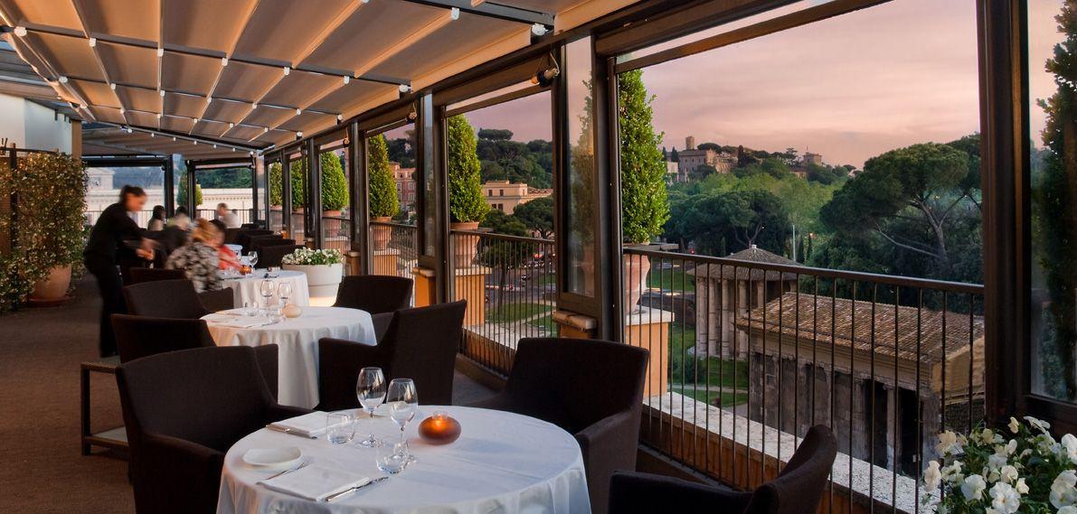 Ristorante roof garden a Roma con terrazza panoramica - Circus ...