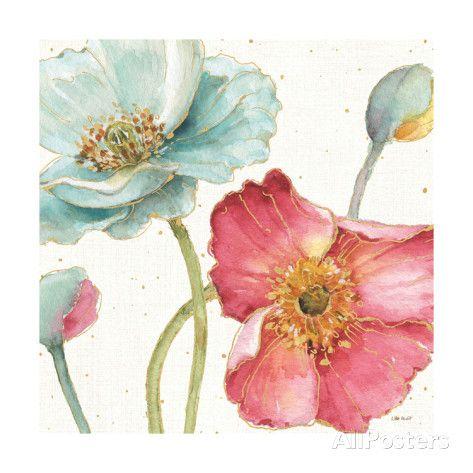 Spring Softies Ii Posters Lisa Audit Allposters Com Canvas Art Floral Art Art Prints