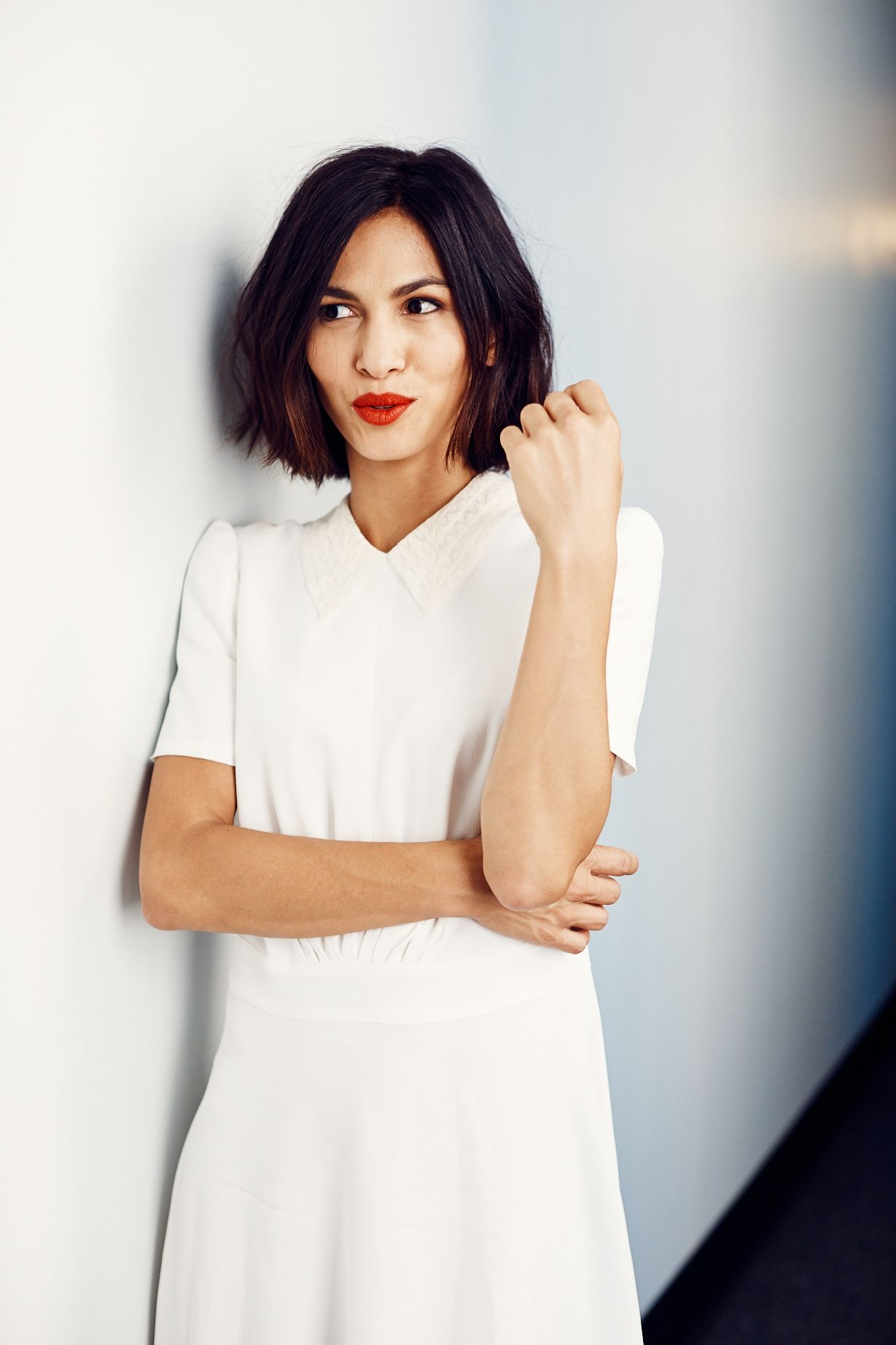3f07579f941 Elodie Yung recently shared the key to her French girl style and some  details about the Netflix show