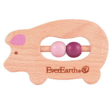 "This infant teether from EverEarth takes ""chewing the fat"" to whole new level of cuteness...!"