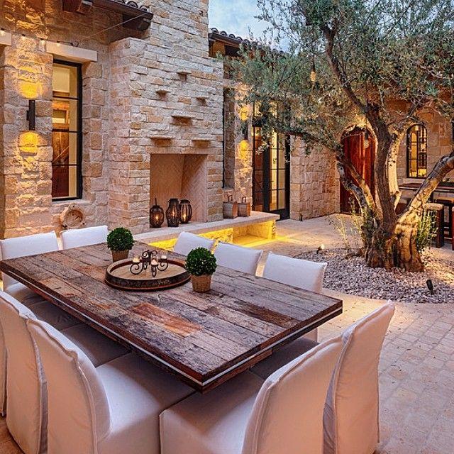 """""""patio rustico"""""""