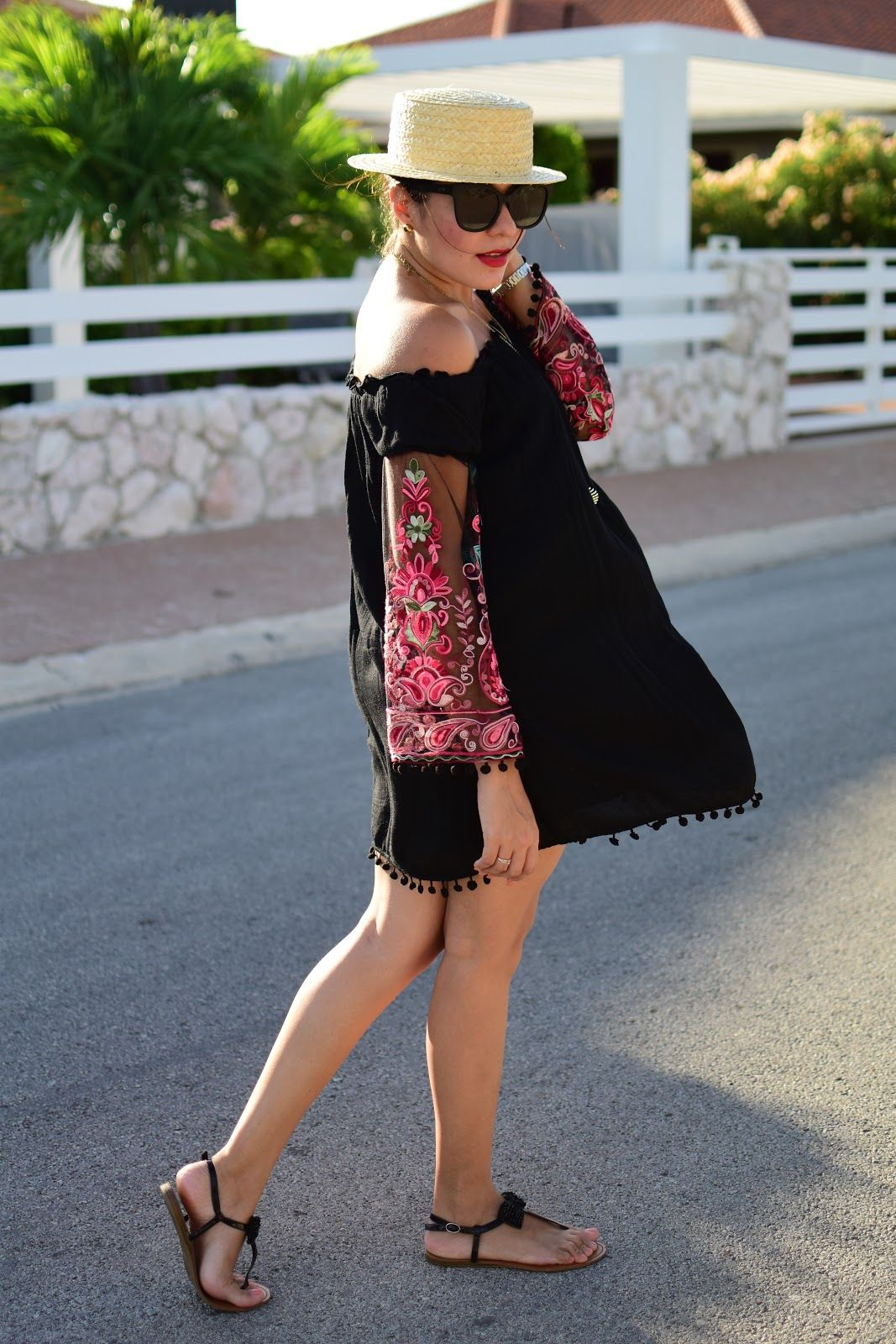 PERFECT BLACK SUMMER DRESS