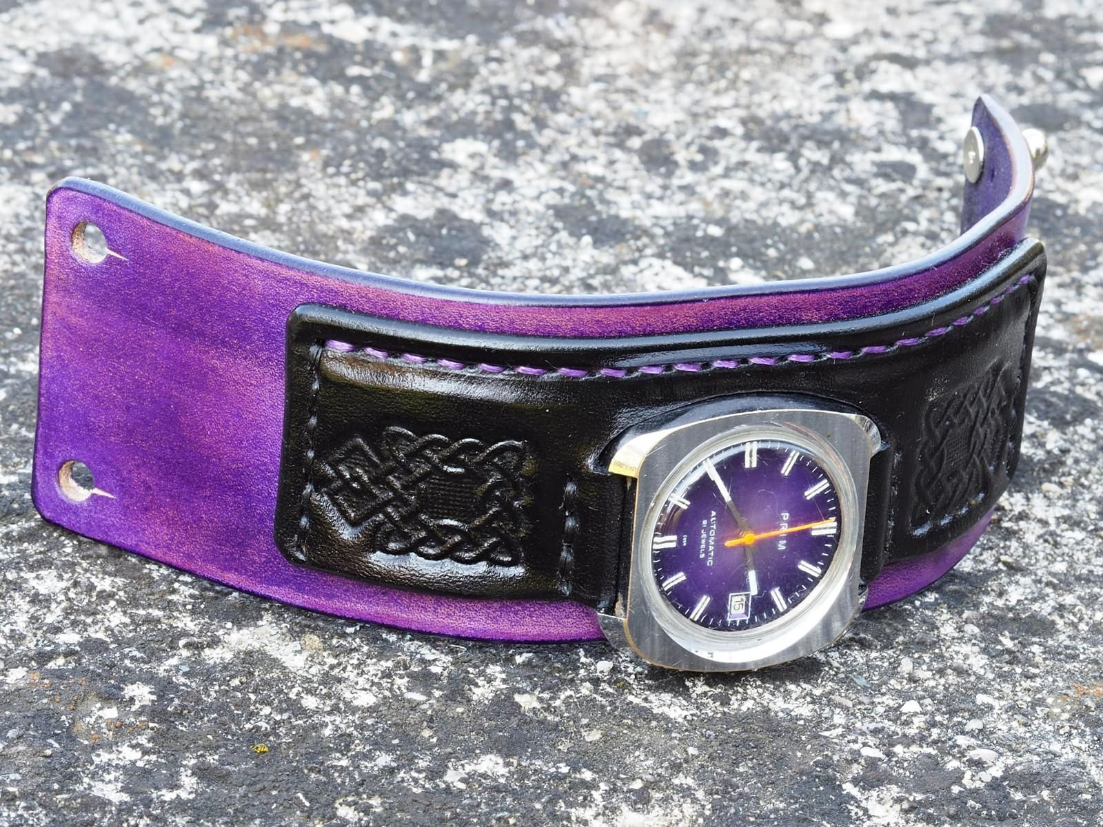 074de961b Hnědý+kožený+pásek+PRIM+Automatic,+21+jewels+Máte+hodinky +na+ktoré+sa+už+nedá+kúpiť+remienok?+Po+dohode+vám+vyrobím+náhradný+remienok .