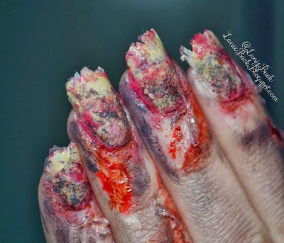 Lanie Buck: DIY Beauty- Back From the Grave Halloween ...