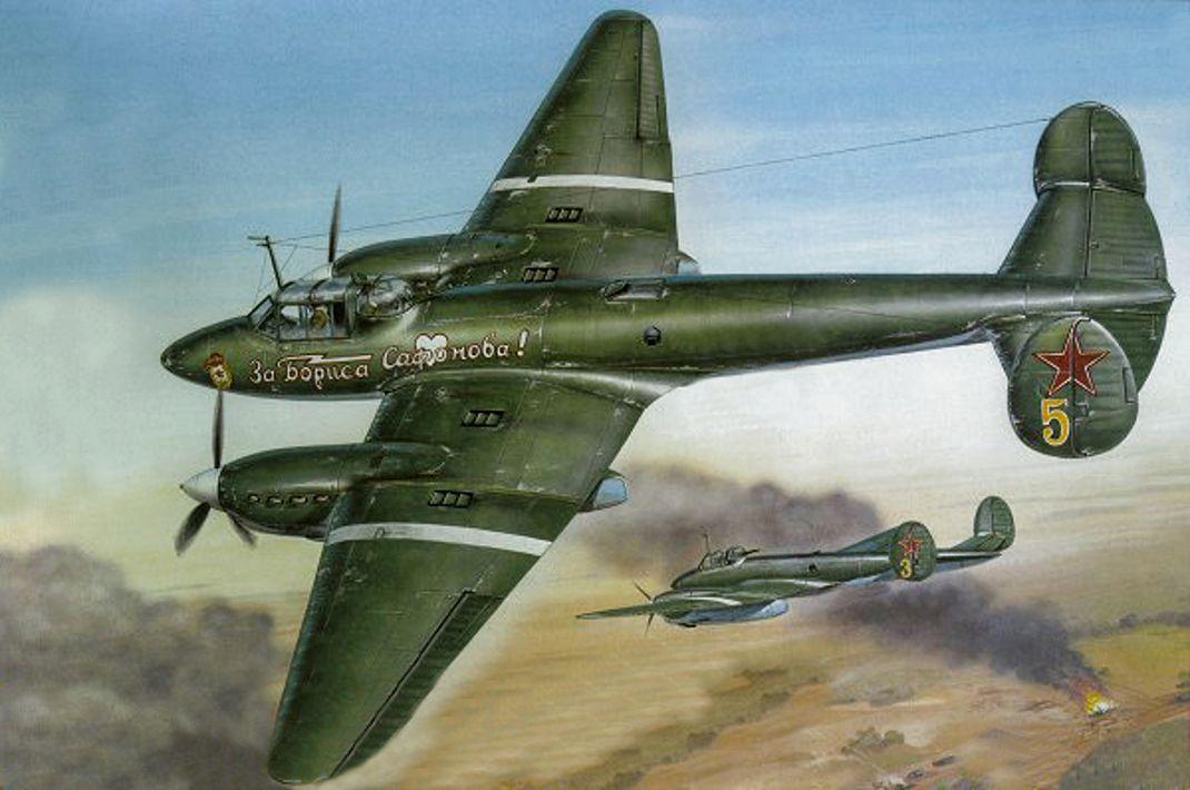 Пикирующий бомбардировщик Пе - 2 | ART AVIA | Пилот ...