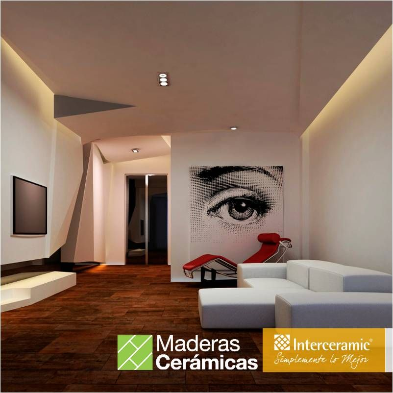 Crea atractivos contrastes entre tu piso de #madera #cerámica y la ...