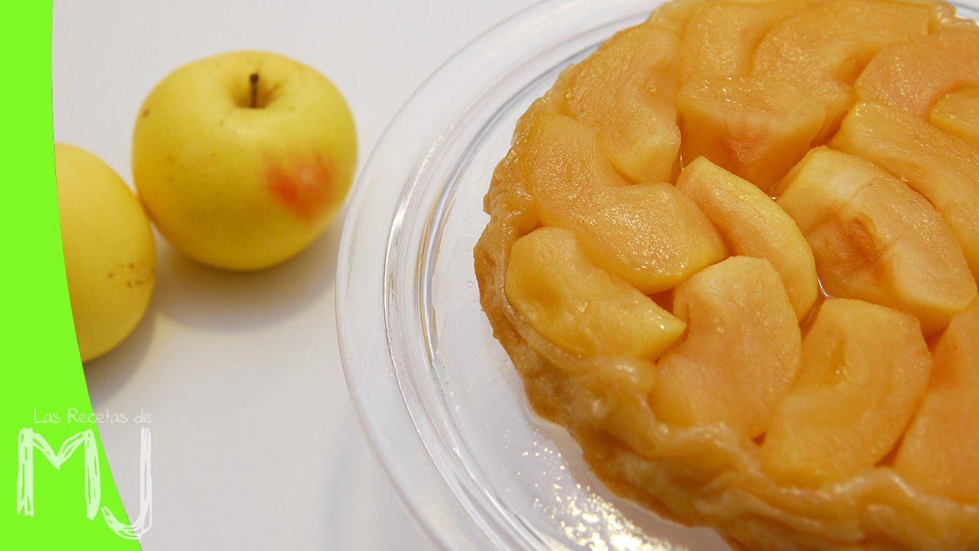 Tarta De Manzana Estilo Tatin Receta Fácil Con 4 Ingredientes Tarta Tatin Receta Recetas Con Manzana Recetas Fáciles