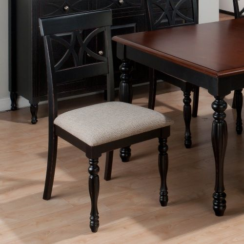 Jofran Chesterfield Tavern Scroll Back Dining Side Chairs - Set of 2 - Dining Chairs at Hayneedle