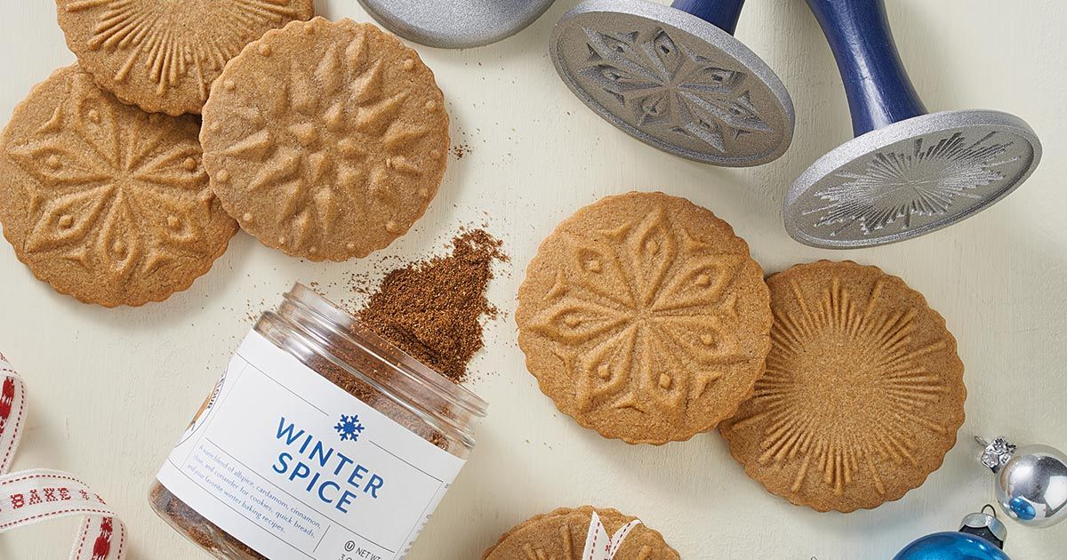 A lightly spiced brown sugar cookie ideal for stamping.