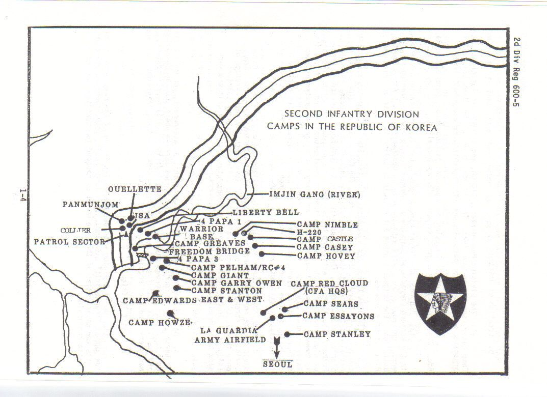 1989 Basic Map Of 2id In Korea Korea Different Life In My