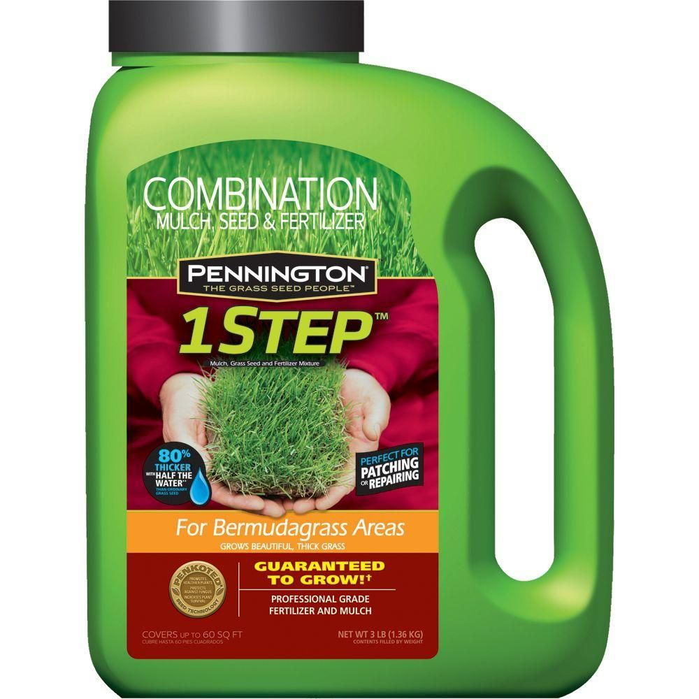 3 Lb 1 Step For Bermudagrass Areas With Grass Seed Mulch
