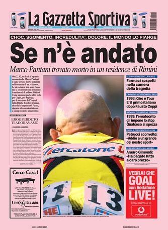 Prima pagina La Gazzetta dello Sport 15 Febbraio 2004 | Fotografia ...