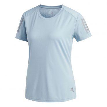 5f3498cdceb adidas We Own The Run hardloopshirt dames ash grey | Running ...