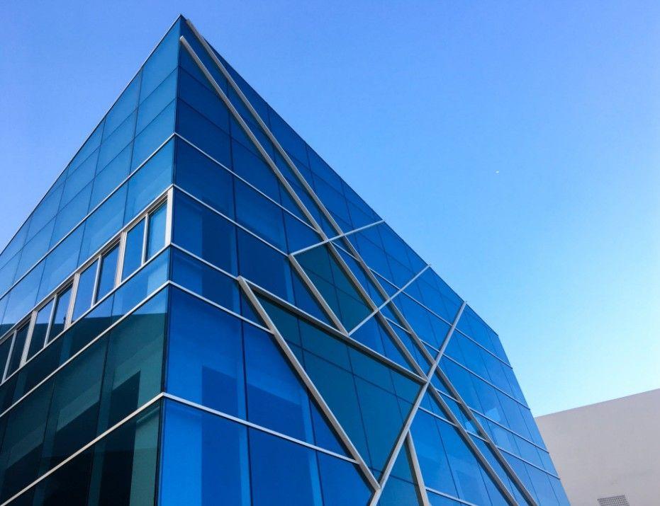 Thermal Break Glass Aluminum Extrusion Profile Curtain Wall