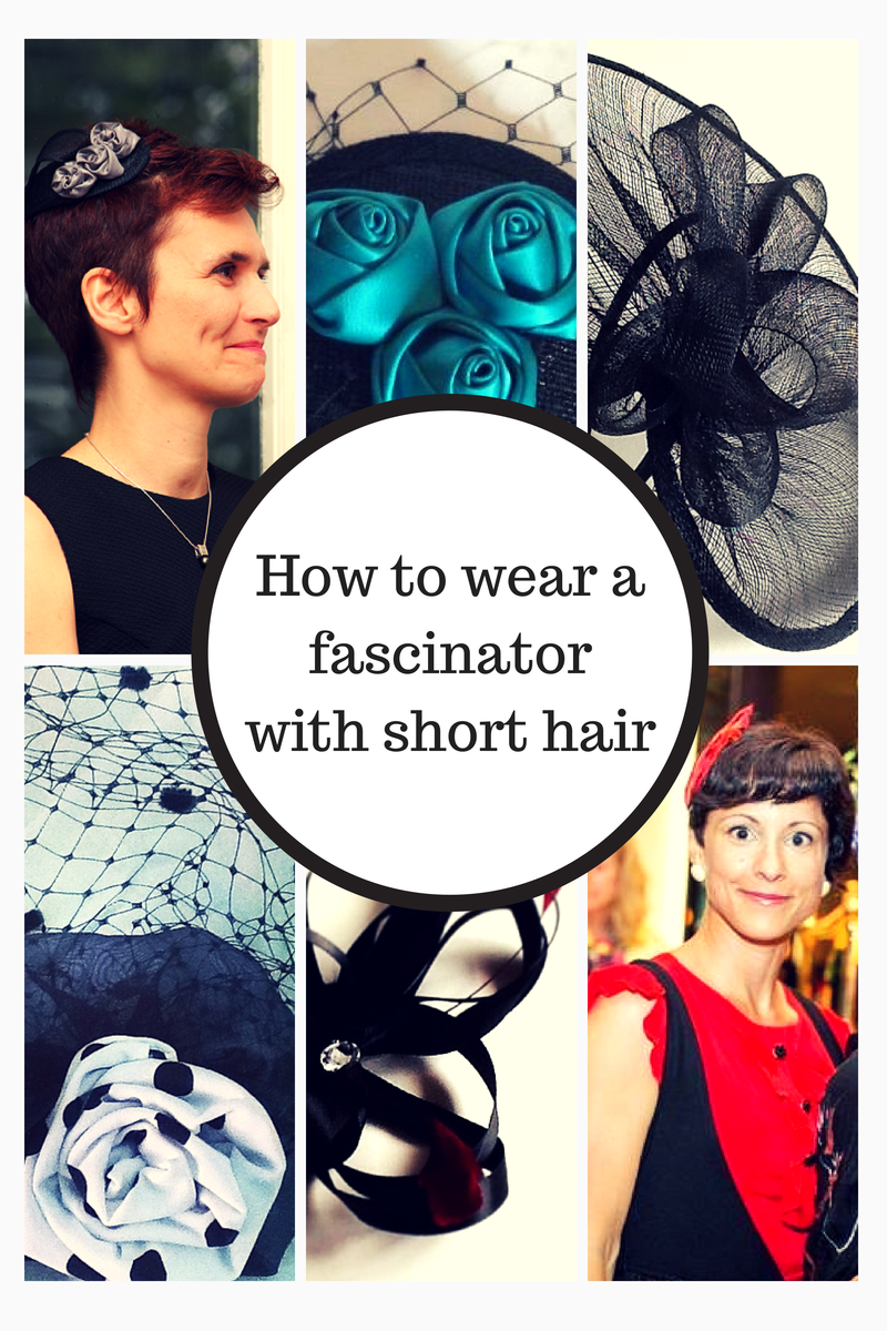 How to wear a #fascinator with short hair | Tips & infos for your ...
