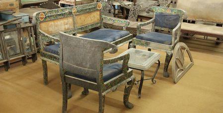 Gujarat Handicrafts Ahmedabad Painted Furniture Etc Pinterest