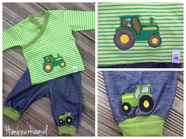 Himbeerkamel Traktor Freebie Nahen Fur Kinder Kostenlose Stickmotive Applikationen Nahen