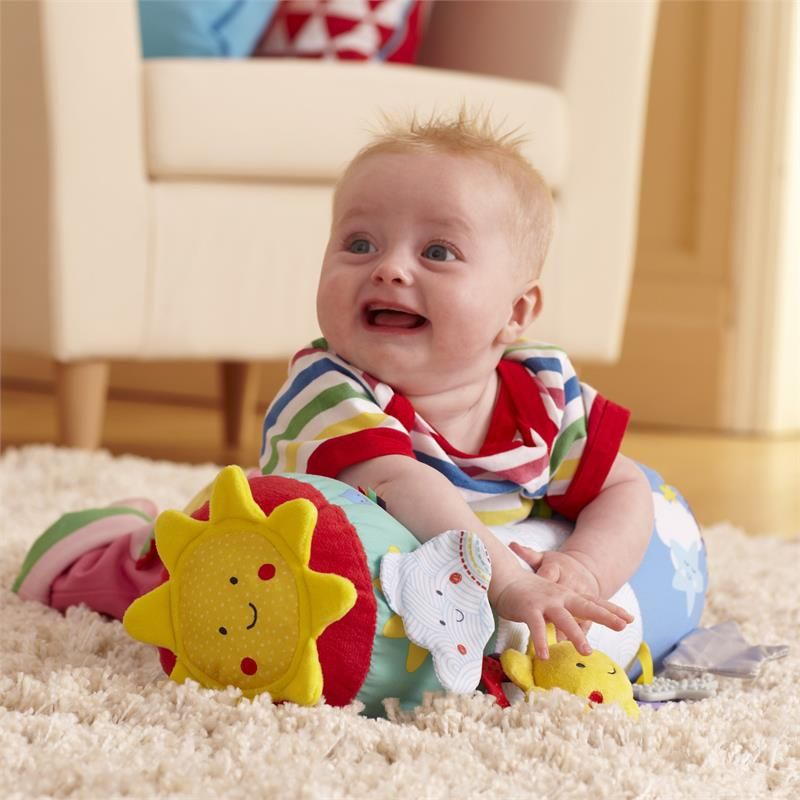 Child East Coast Nursery Say Hello Tummy Time Baby Kid Discovery Toy