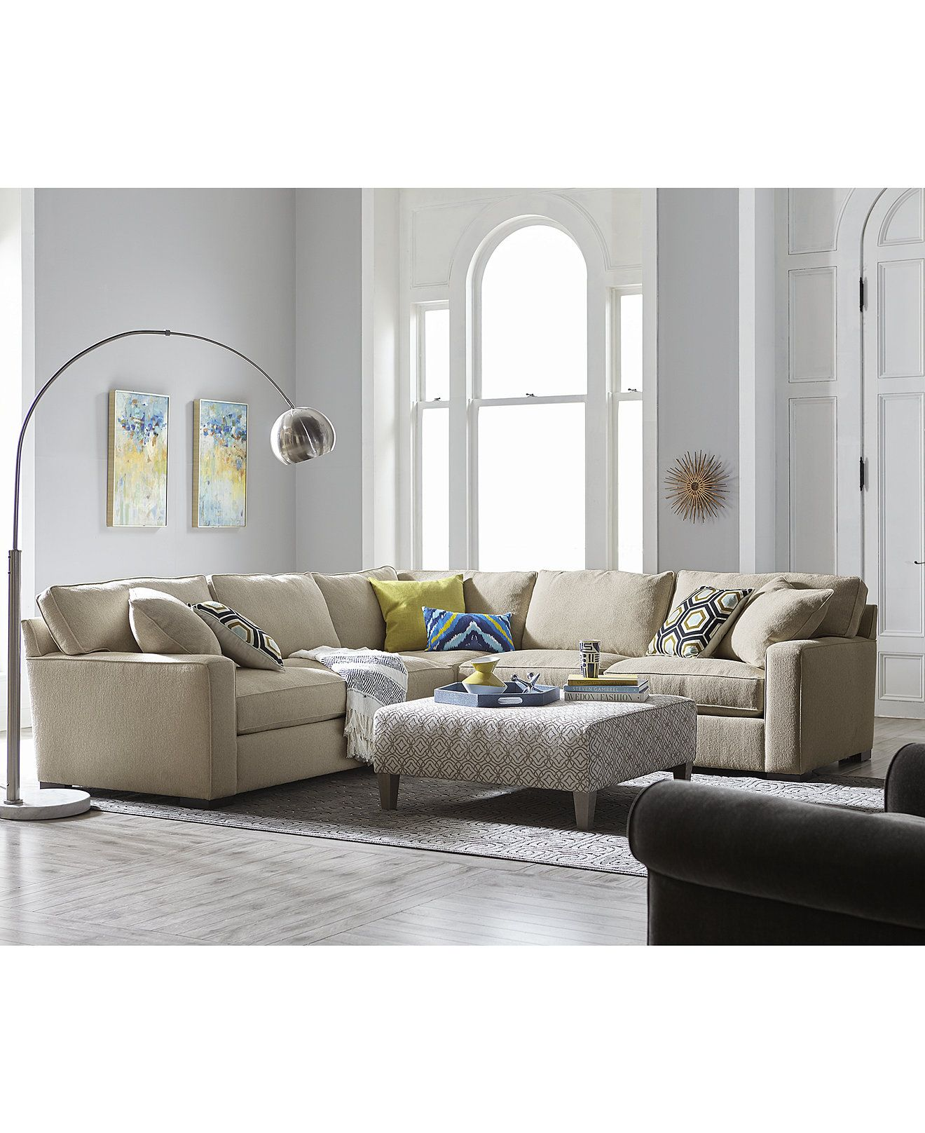 Kelly Ripa Ampton Sectional Collection Only At Macy S Kelly