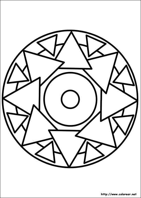 Dibujo De Para Imprimir Mandalas Para Colorear Mandalas