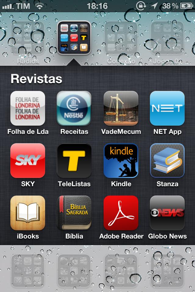 iPhone Home Screens