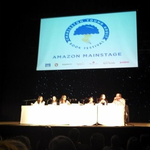 #yallfest AFTER THE END panel minus Carrie Ryan - via Page Turners Blog