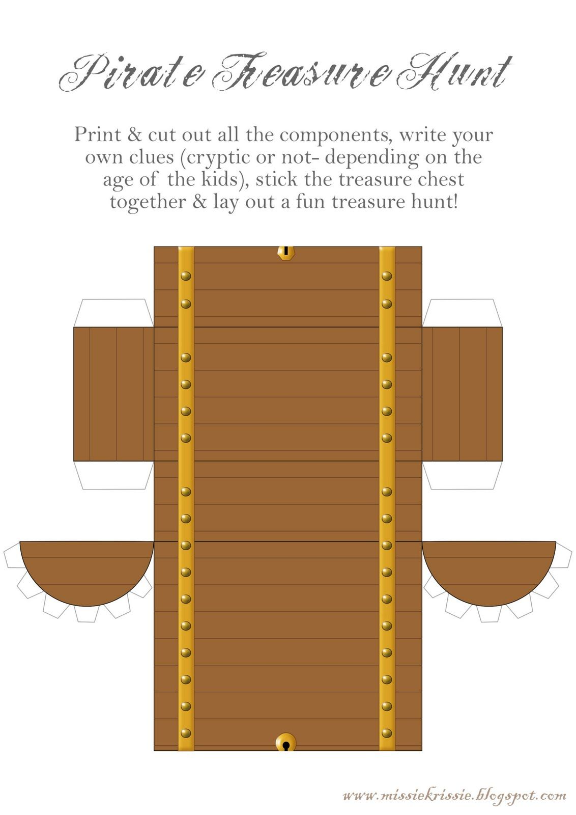 great freebies images to print for a pirate treasure hunt
