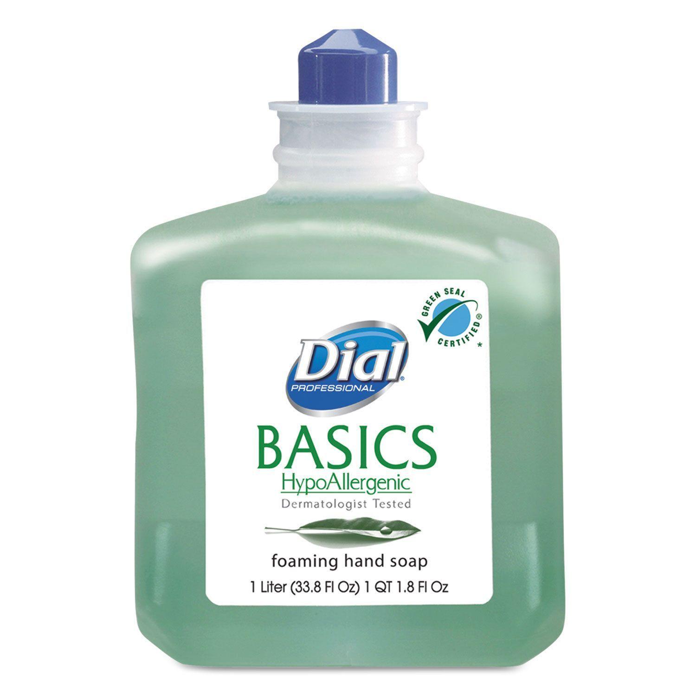 Dial Basics Foaming Hand Soap Refill 1000ml Honeysuckle 6 Carton