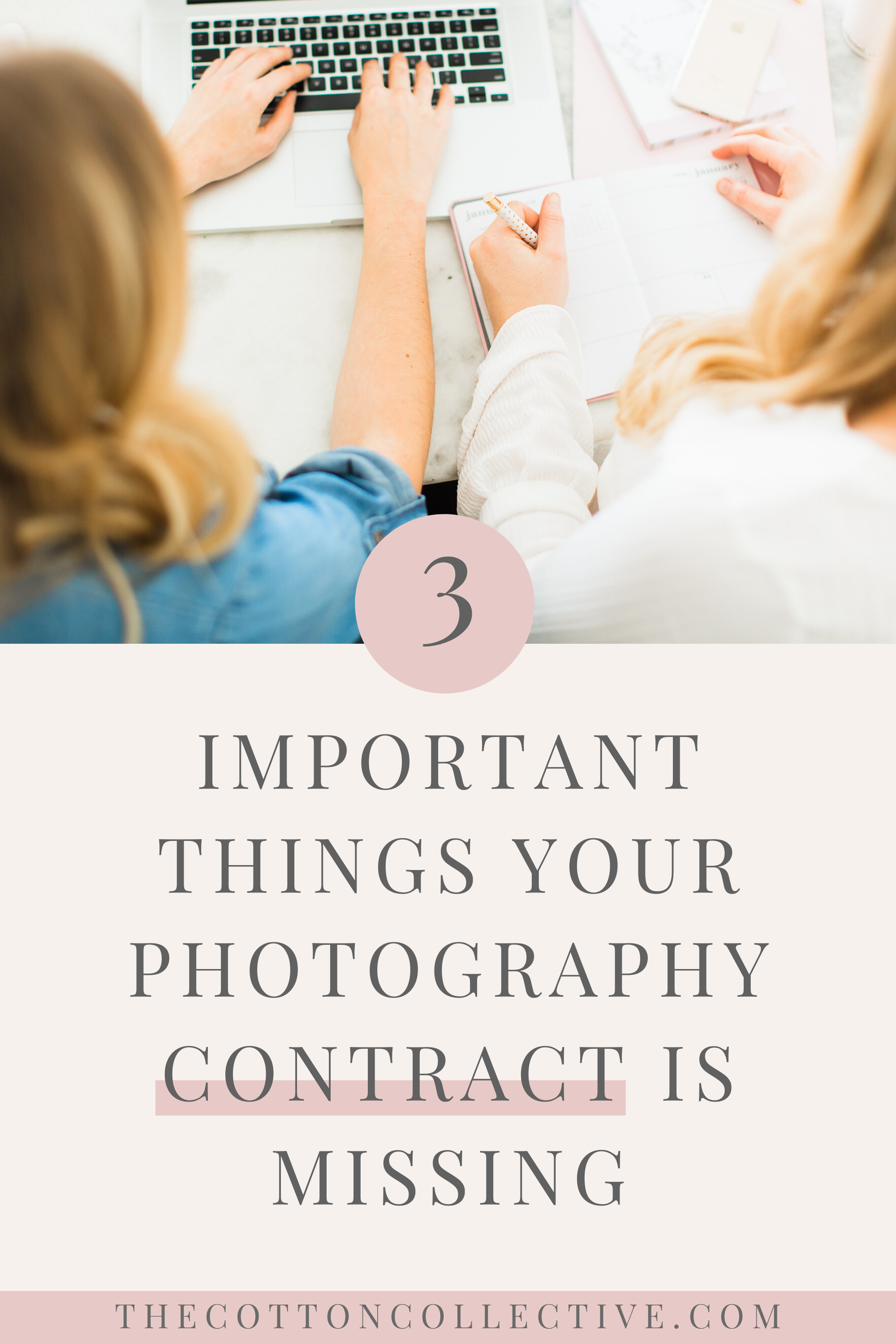 3 Important Things Your Photography Contract is Missing