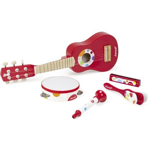 janod confetti muziekinstrumenten