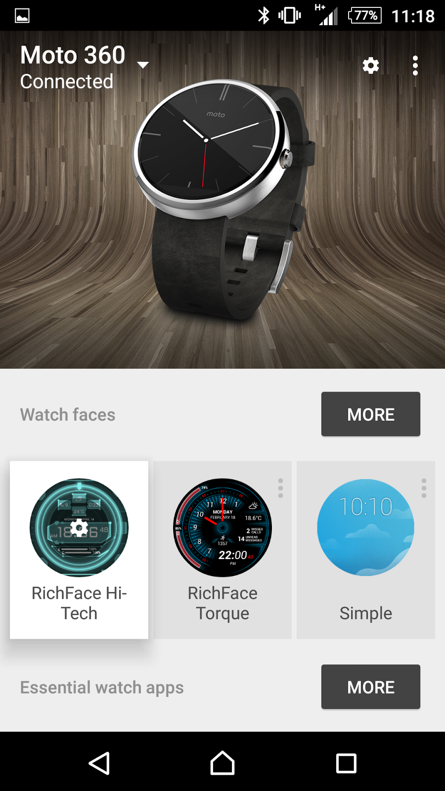 Android Coliseum: Android Wear update 1.1.1.1867902-701867902 rolling out to others!