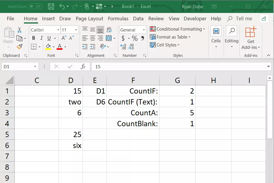 Easily Count A Dynamic Range In Excel With Countif And Indirect Excel Excel Formula Pivot Table