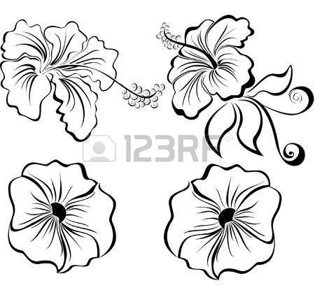 Dibujos De Flores En Blanco Y Negro. Great Resultado De Imagen Para ...
