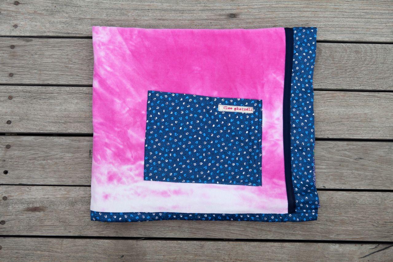 BLEACHED PINK Beach Towel by Cleo Gkatzeli