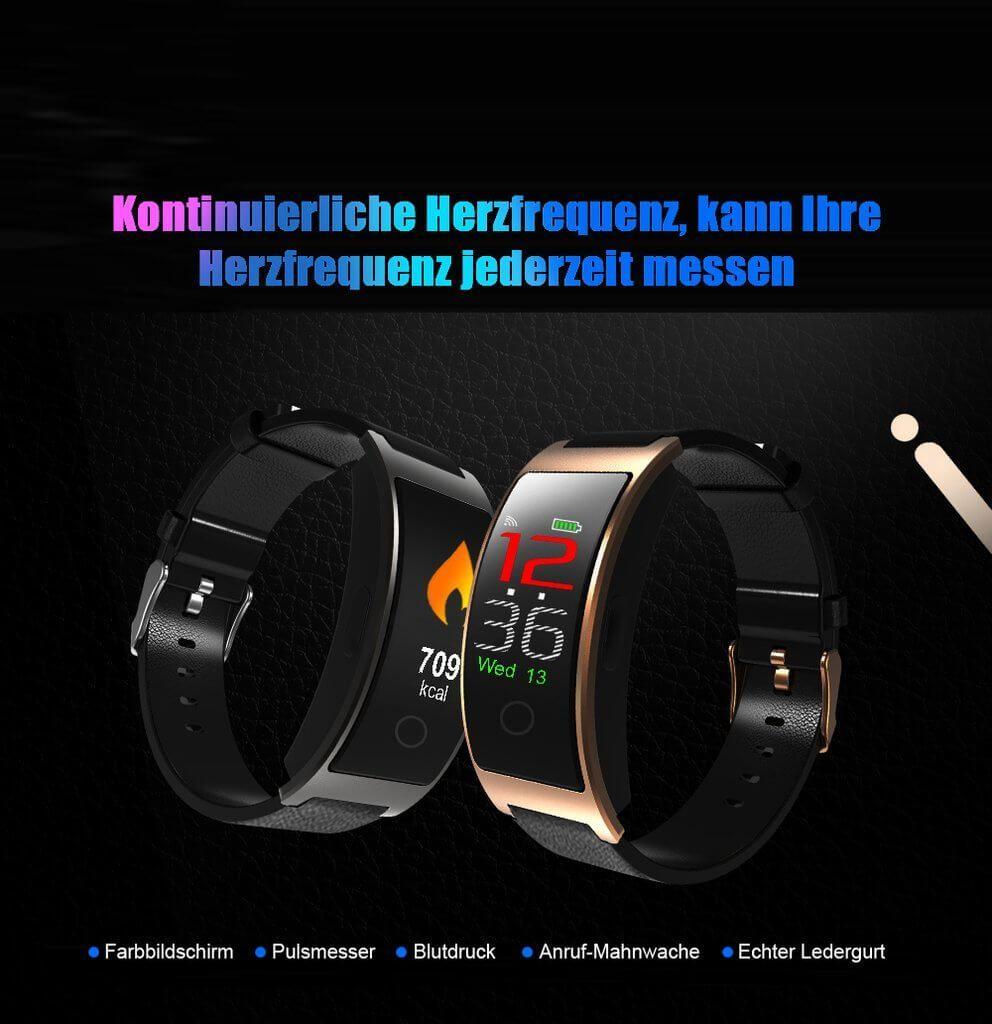 WIE SIE IHRE GESUNDHEIT IN ECHTZEIT ÜBERWACHEN!  #healty #fitnesstracker #smartwatch #watch #GPSmoni...