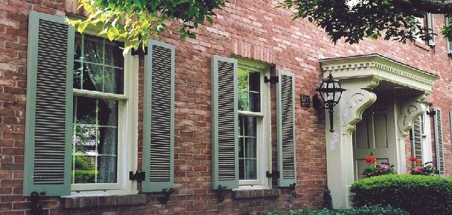 Exterior Window Shutter Color Ideas