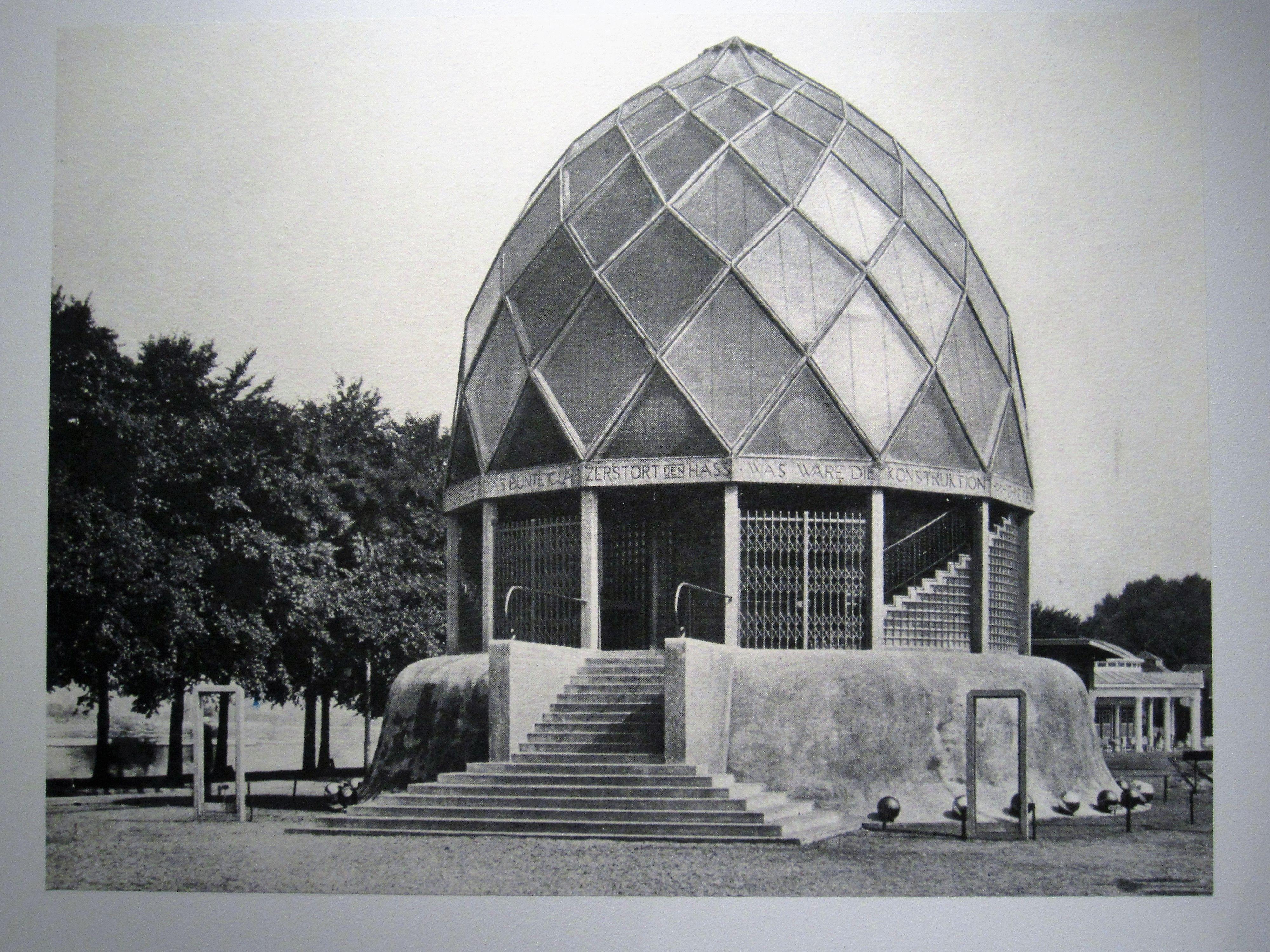 Bruno Taut 1914   Arquitectura pabellon, Arquitectura ...