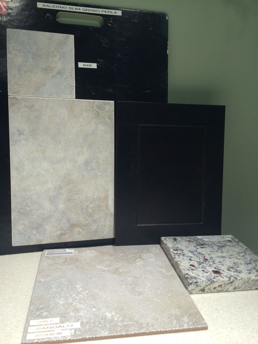 Master Bathroom Selections Timberlake Sonoma Cabinets In