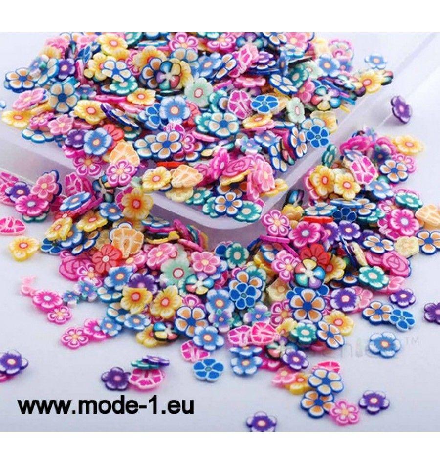 3D Nagel Kunst Plastik Scheibe Dekoration Blumen | Beauty ...