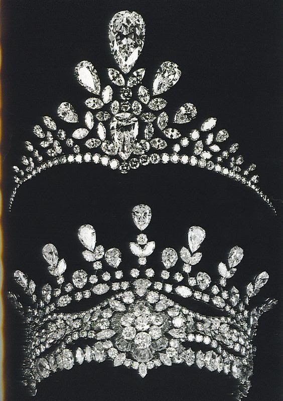 russian tiaras tiarascrownsroyal jewels pinterest